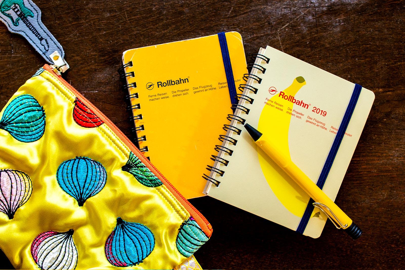 黄色い文具