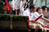博多祇園山笠で王さん台上がり