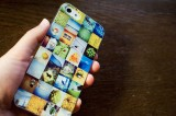 Instagramの写真で作ったiPhone5ケース