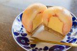 まるごと桃タルト